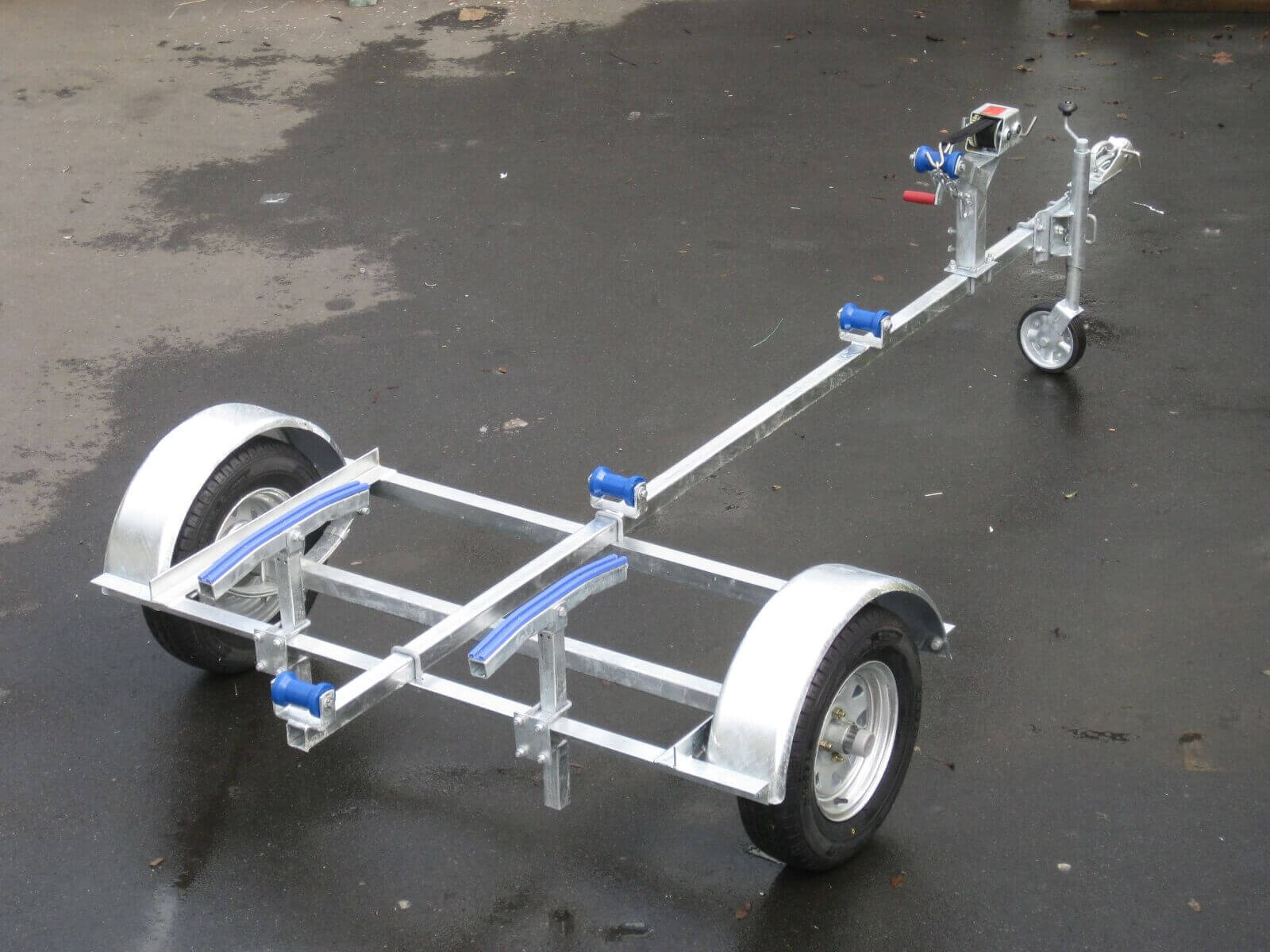 Single Axle Boat Trailer