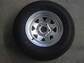 Spare Wheel and Tyres